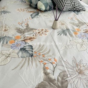High-quality European-style retro nostalgic flower sea gentle bed sheet for sleeping at right angles to pure cotton patch sleeping sheet-single product (Implication of the East)