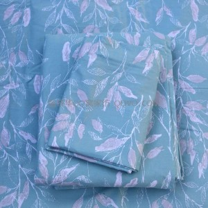 100% cotton sheets, right-angle sheets, sheets, quilts, pillowcases, cotton twill-single-piece bedding (Late autumn green)
