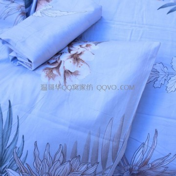High-quality European-style retro nostalgic flower sea gentle quilt cover pure cotton patch quilt-single product (meaning oriental)
