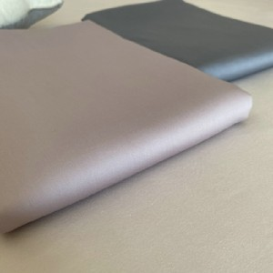 Exported to Europe and the United States for domestic sales, pure color cotton sheets, high-density tribute satin sheets (grey)