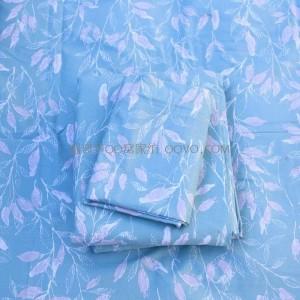 100% cotton double duvet cover four seasons-single piece (late autumn green)
