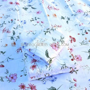 American-style elegant and fresh pastoral style cotton bed pure cotton naked sleeping single flat single-single product (Dream garden)